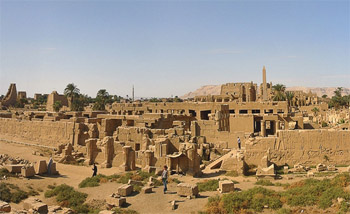 Комплекс храмов в карнаке и луксоре